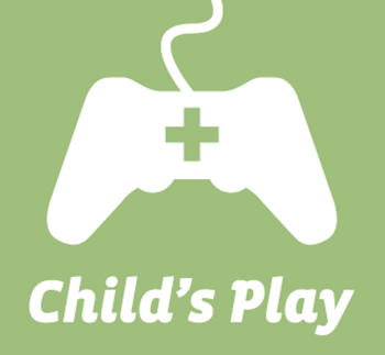 Logo for Child's Play Charity, sponsor of Jennifer Ann's Group's prevention of teen dating violence through video games.